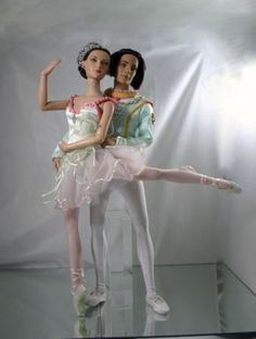 @Stratos Bacalis 's Cavalier and Sugar Plum: Pas de deux The NYCB Sugar Plum Fairy and her Cavalier dance for your eyes