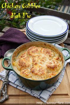 Chicken Cobbler Pot Pie by Savour Fare