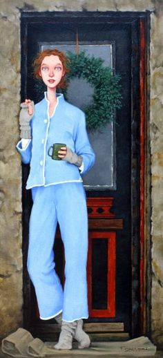 Fred Calleri ..... I love this print! So expressive!