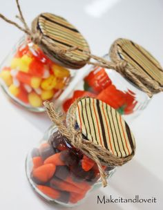 Cute party favors.  Maybe for a baby shower....