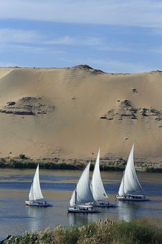 Taking a cruise on the Nile is a time-honored way to explore Egypt. Experience heavenly pleasures of a Nile journey! There are 3 types of itineraries for Nile cruises. Egypt Travel, Africa Travel, Luxor, Wonderful Places, Beautiful Places, Travel Around The World, Around The Worlds, Paises Da Africa, Deserts