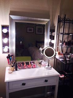 Make up vanity prentice mcguire mcguire mcguire mcguire butterworth do it yourself makeup mirror using two bathroom vanity lights walmart 999 and solutioingenieria Gallery