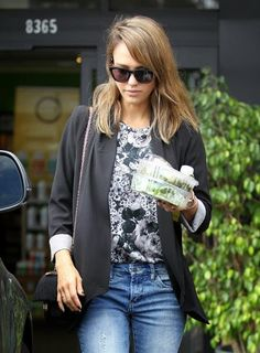 Celeb Diary: Jessica Alba in West Hollywood