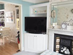 Traditional Alcove TV Cabinet