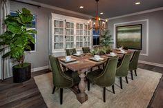New Homes in Rancho Cucamonga, CA - La Ventana Residence Four - Dining Room