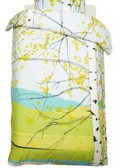 Kaiku duvet cover and pillow case – Bed Linens – Marimekko Design Shop, Motif Tropical, Scandinavian Fabric, Scandinavia Design, Decoration Bedroom, Light Blue Green, Bed Linen Sets, Nordic Design, Cool Fabric