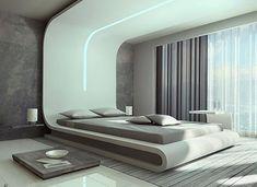 Дизайн спальни подиум фото