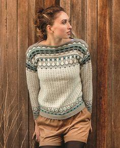 Grill knitting pattern from Dale Garn Urban Retro 320 Sweater Knitting Patterns, Knitting Designs, Knitting Stitches, Knit Patterns, Pullover Design, Sweater Design, Norwegian Knitting, Fair Isle Pattern, Fair Isle Knitting