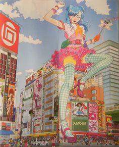 curious musings of an aspiring editor: japanese pop art