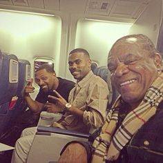 Mike Epps Lil Duval and John Witherspoon