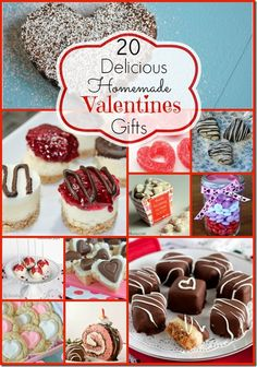 20 Homemade Edible Valentine's Day Gift Ideas