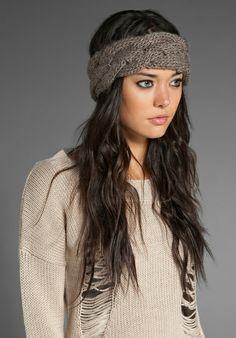 Eugenia Kim knit headband