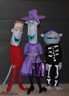 Nightmare Before Christmas Kids - Halloween Costume Contest via @costumeworks