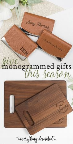 Everything Decorated offers gifts for every person in your life. Personalized Cutting Boards are the 'it' Gift at any Party! Warm up any Kitchen with the Beautiful Grains Of Walnut. Our Cutting Board has Beautiful, Natural Tones that are Unique to Each Piece. Our Walnut Cutting Board will Arrive in a White Gift Box, Perfect for Gift Giving!