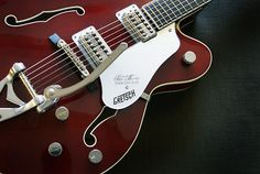 Gretsch Tennessee Rose Up Close