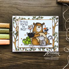 Stampin Pretty, Stampin Up Catalog, Stamping Up Cards, Scrapbooking, Animal Cards, Card Tutorials, Paper Pumpkin, You're Awesome, Making Ideas