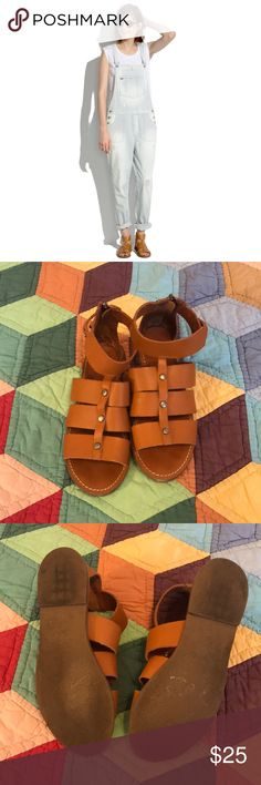 6a64393543f0 Madewell Rowan Gladiator Sandals Size 7.5 Madewell Rowan Leather Gladiator  Sandals Size 7.5. These sandals are in GUC and have plenty of wear left.