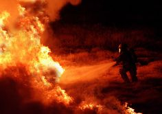 Fire fighters  by photokid101, via Flickr