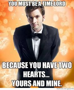 Best Whovian pick up line yet