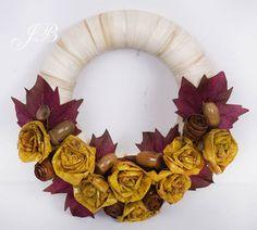 ДЛЯ ДОМА - handmade Rubrics, Wreaths, Fall, Crafts, Diy, Home Decor, Crowns, Autumn, Do It Yourself