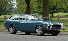 Volvo 1800ES Sportwagon 1973. In my opinion the 1800ES is the only beautiful Volvo ever built, and it is exquisite.