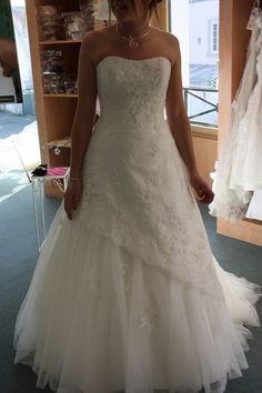 Robe de mariage Alwena Eglantine Création