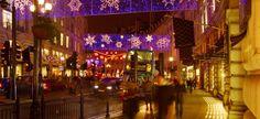 Oxford Street, London, Christmas lights