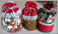 Domain registration, domain hosting, domain renewals, domain transfers and much more - FASTDOMAIN Christmas Sewing, Christmas Bags, Christmas Projects, Christmas Time, Xmas, Antique Christmas Ornaments, Christmas Decorations, Sewing To Sell, Patchwork Bags