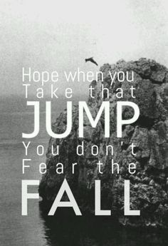 I lived - OneRepublic. Hope when you take that jump you don't fear the fall