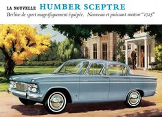 Humber Sceptre Mk2 Retro Cars, Vintage Cars, Automobile, Car Advertising, Commercial Vehicle, Sales And Marketing, Old Cars, Motor Car, Volvo