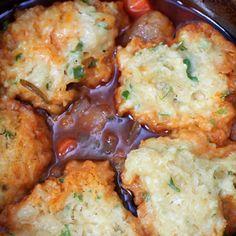 Beef Stew and Dumplings - Crock Pot