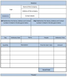 Catering Invoice Template Excel Pleasing Catering Invoice 16  Lady Bakes  Pinterest  Catering