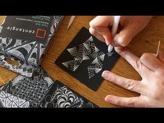 How to Draw the Zentangle® Tangle 'Munchin' - YouTube