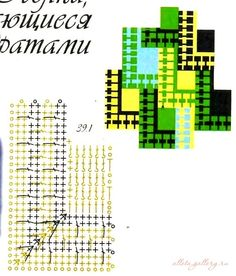 Gallery.ru / Фото #34 - Вязание элементов пэчворка - Alleta