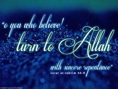 Repent ask Allah's forgiveness.
