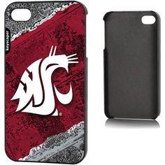 Washington State Cougars Apple iPhone 4/4s Slim Case