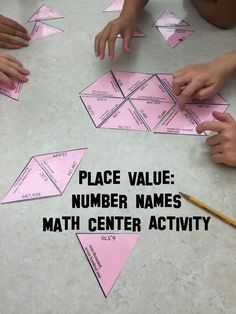 Place value, 30 problem written word format puzzle ideal for guided math work. Use the included interactive notebook page as part of your INB activities. Word form numbers go out to the hundred thousands place value. Math Enrichment, Math Activities, Math Games, Place Value Activities, Teaching Place Values, Teaching Math, Fifth Grade Math, Fourth Grade, Second Grade