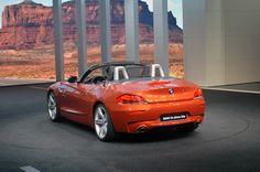 BMW Z4 at Detroit Auto Show