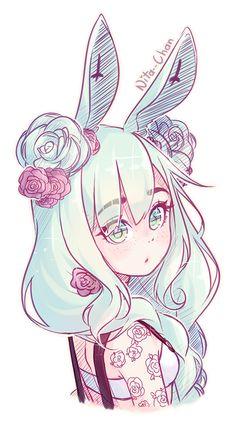 drawings of personalities Cartoon Art Styles, Cute Art Styles, Cute Drawings, Kawaii Drawings, Pastel Goth Art, Art Style Challenge, Japon Illustration, Kawaii Art, Anime Art Girl
