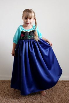 Anna Princess Dress on Etsy, $85.00...! Awesome!