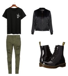 """""""Untitled #30"""" by directioner-792 on Polyvore featuring Glamorous and Dr. Martens"""