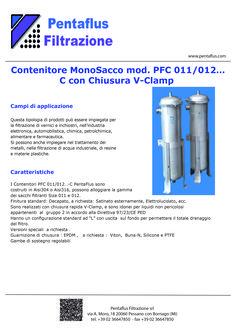 Contenitore MonoSacco mod. PFC 011/012… C con Chiusura V-Clamp