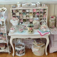 #craftroom #atelier #teacupandroses #shabbychichome #shabbychic