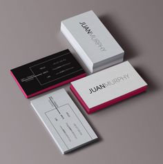 JUANMURPHY - self branding - Business cards