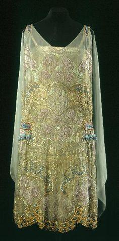 Dress - 1925 - by Agnès - Musée Galleira de la Mode de la Ville de Paris - @~ Mlle