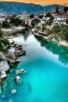 Mostar, Bosnia.