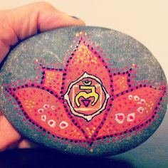 Root Chakra Stone Paperweight by wildiveystudio on Etsy, $15.00