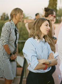 Director Sofia Coppola with designer Consuelo Castiglioni for Marni x H&M | Photo Andrew Durham.