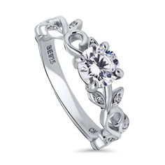 tusakha Women/'s Petite Curved Created Diamond Wedding Band with Blue Topaz .925 Sterling Silver 18K White Gold Plated