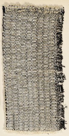Anni Albers, wall covering material. The Josef & Anni Albers Foundation